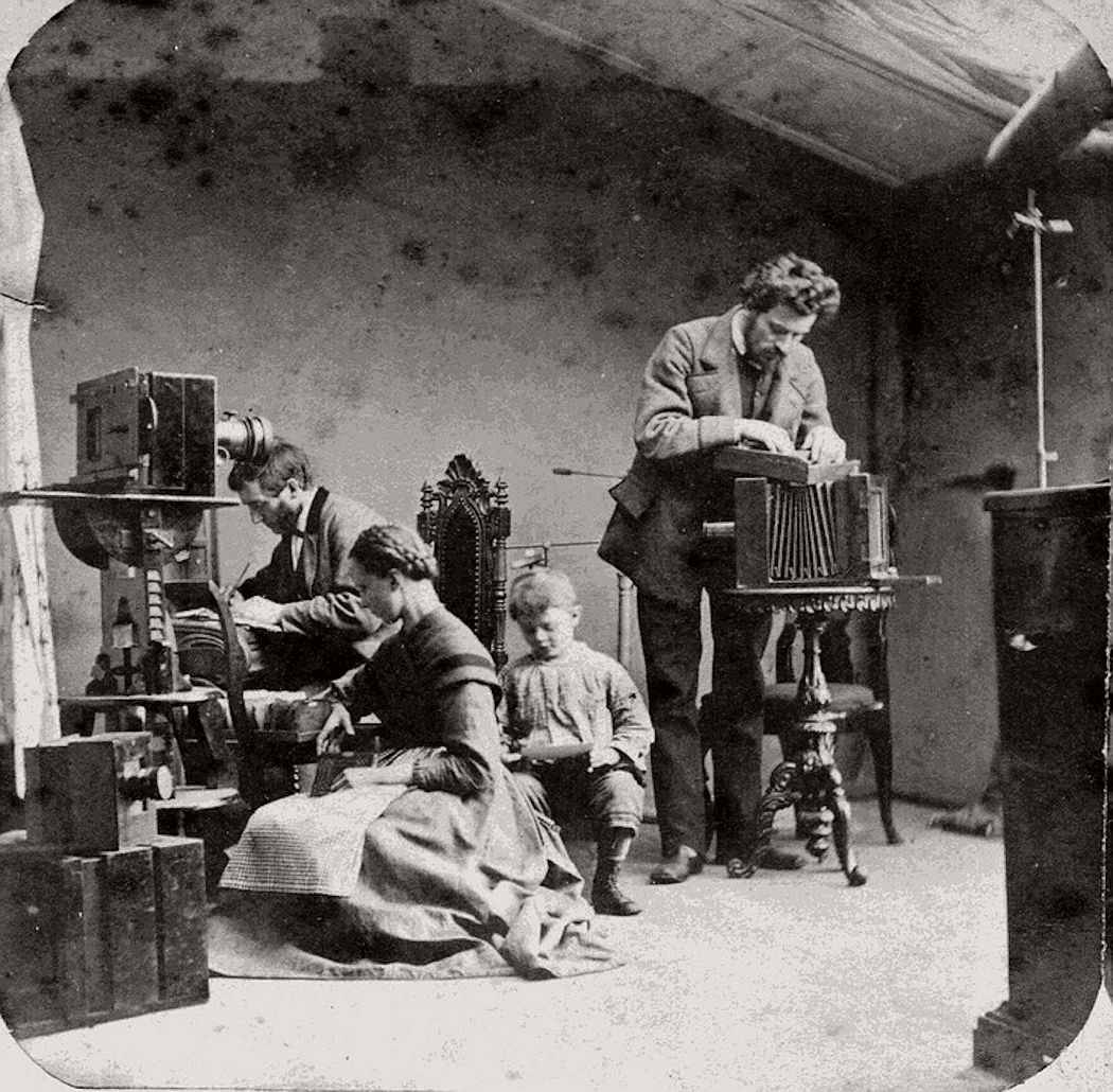 10 Images Of Photographic Atelier Studio 19th Century