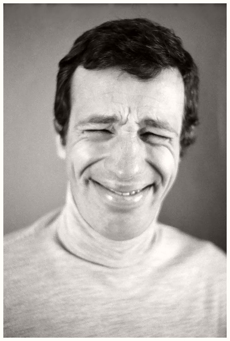 Jean-Paul Belmondo - willy-rizzo-portraits-funny-faces-of-celebrities-1960s