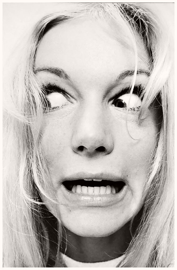 Yvette Mimieu - willy-rizzo-portraits-funny-faces-of-celebrities-1960s