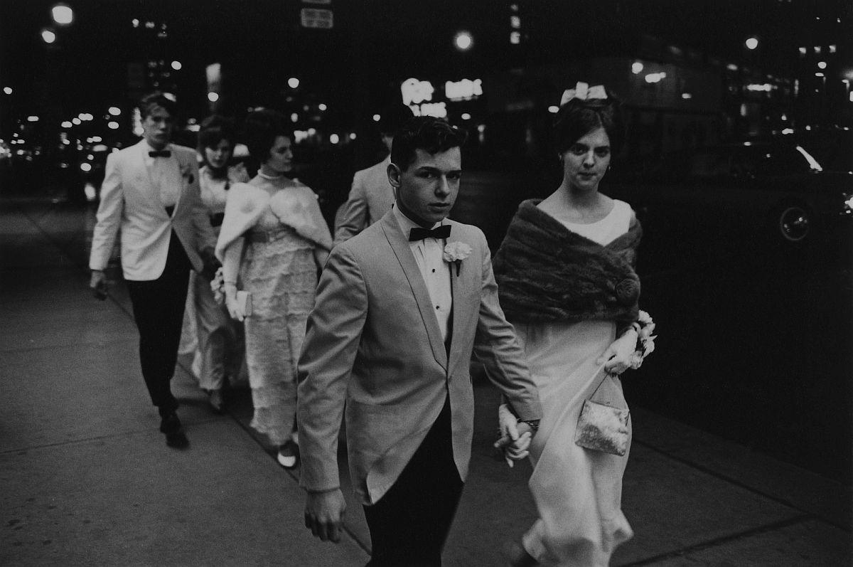 Enrico Natali, High School Prom, Detroit, 1968, vintage gelatin silver print, 4.5 x 6.4 inches