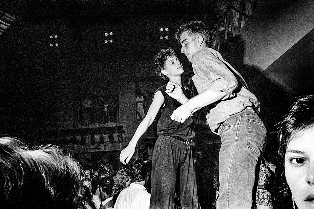 Couple Dancing at the Palladium, 1985.