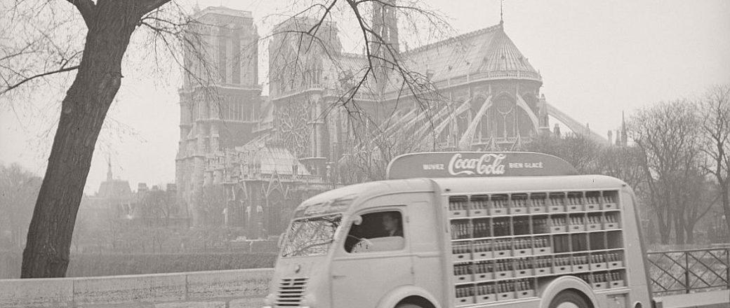 Vintage: Coca-Cola in France (1950)