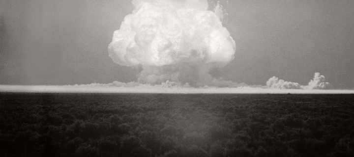 Vintage: First Atomic Bomb Tested (July 16, 1945)