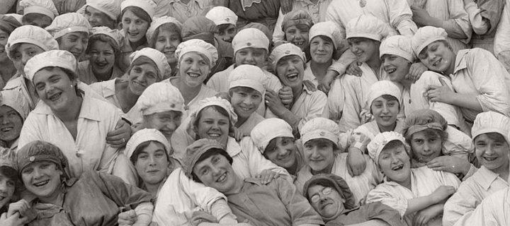 Vintage: Women at work during World War I