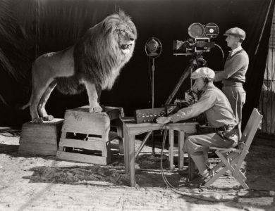 Vintage: Recording the MGM lion (1920s)