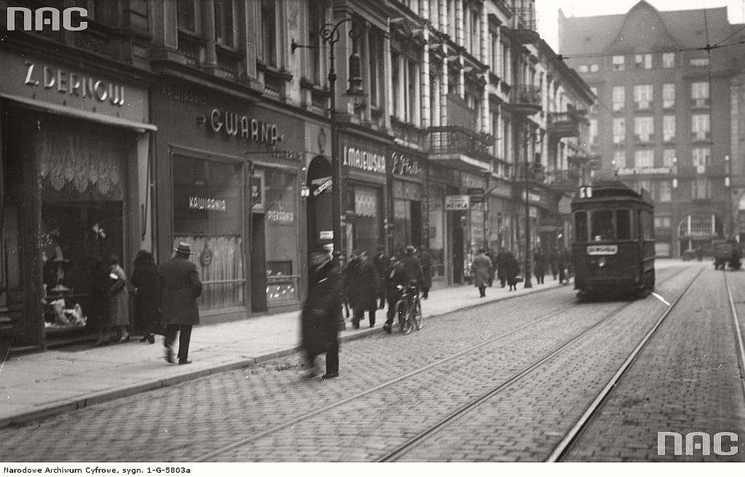 shopping-street-gwarna-in-poznan-1935