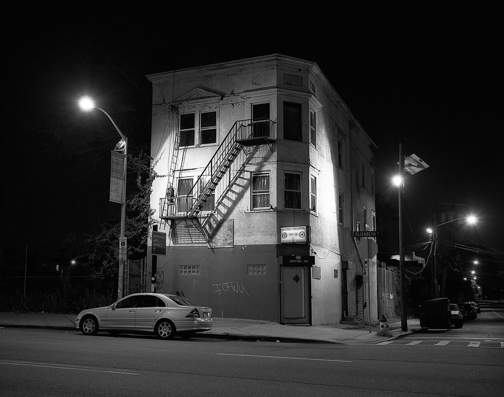 Bruce Wodder Newark After Dark Monovisions