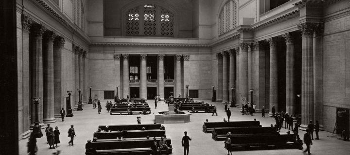 Vintage: Chicago Union Station