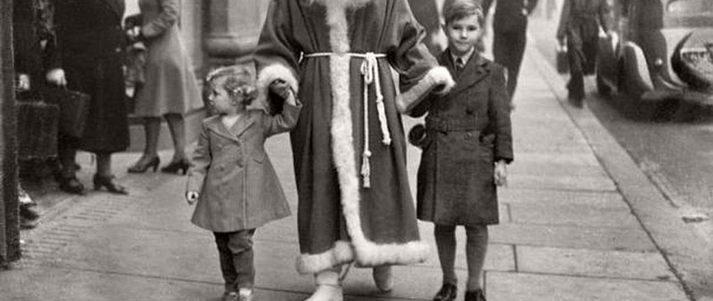 Vintage: Christmas during the World War II (1940s)