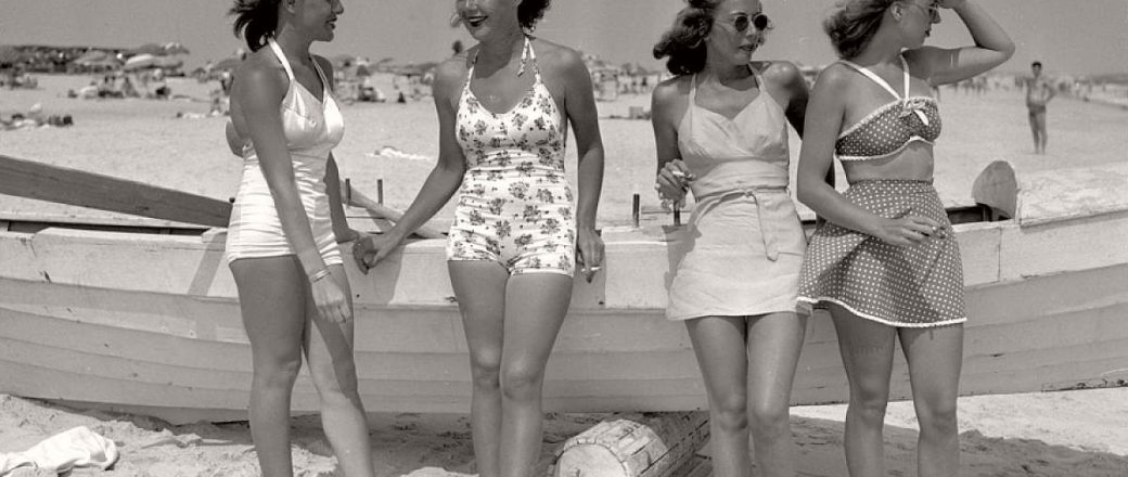Vintage: Girls in Swimsuits (New York City, 1930s-1940s)