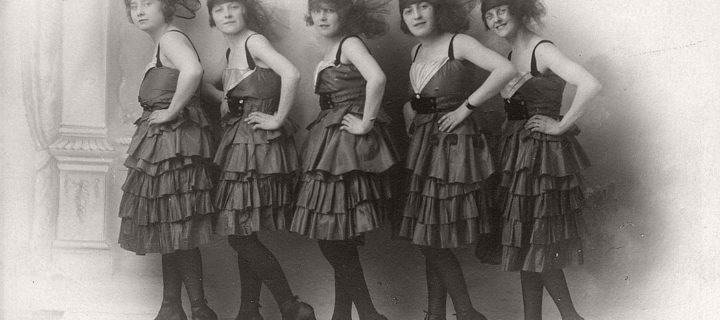 Vintage: Group photos of Dancing Girls (1910s-1930s)