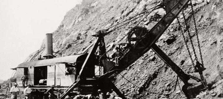 Vintage: Panama Canal Construction (1904-1914)