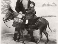 Vintage: Father Christmas in the Victorian Era (19th Century)