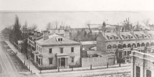 Vintage: Toronto, Canada from the Top of Rossin House Hotel (1856)