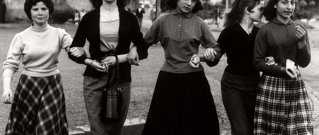 Vintage: Rome, Italy (1956) by William Klein