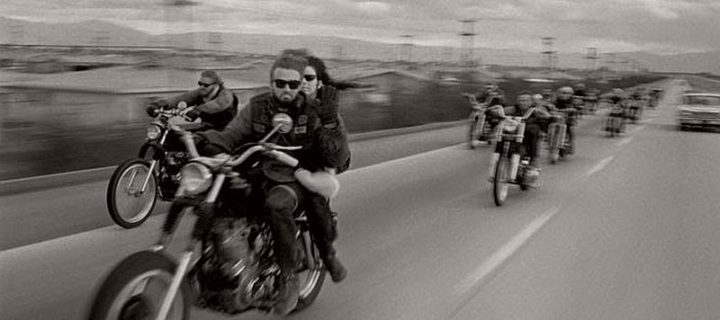 Vintage: Hells Angels Motorcycle Club in 1965 by Bill Ray