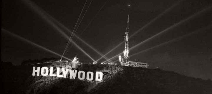 Vintage: Hollywoodland Sign (1920s)