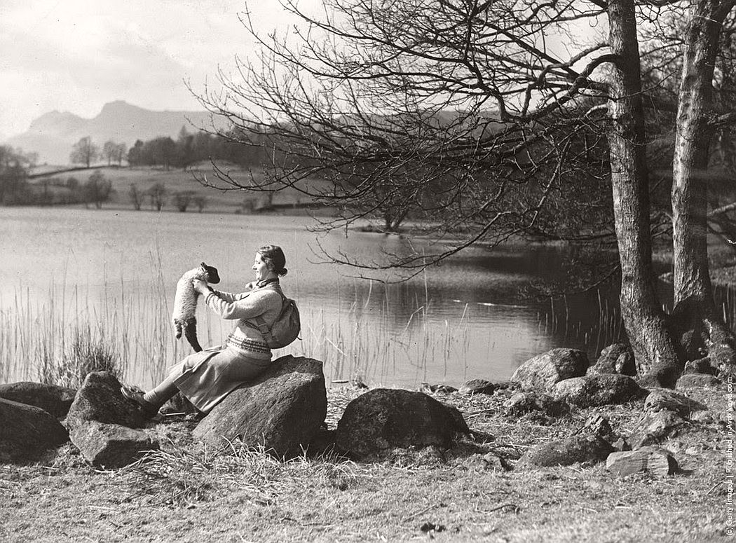 vintage-people-with-baby-animals-1930s-1960s-19