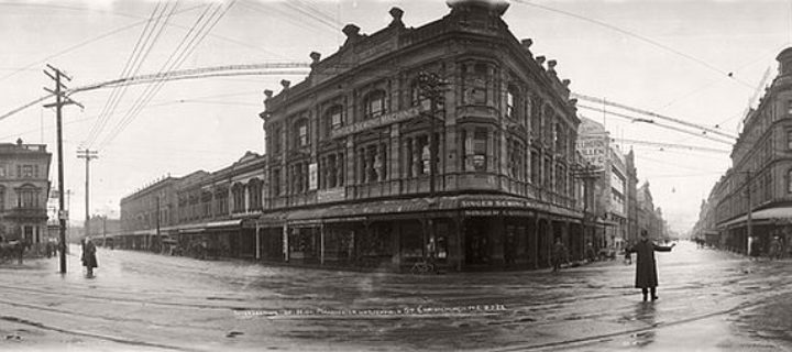 Vintage: Panoramic photos of New Zealand by Robert Percy Moore (1920s)