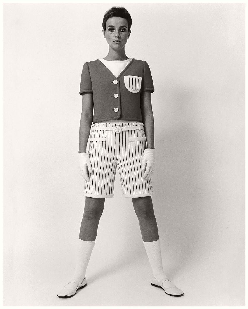 André Courrèges, Short, photographed by F.C. Gundlach, 1965