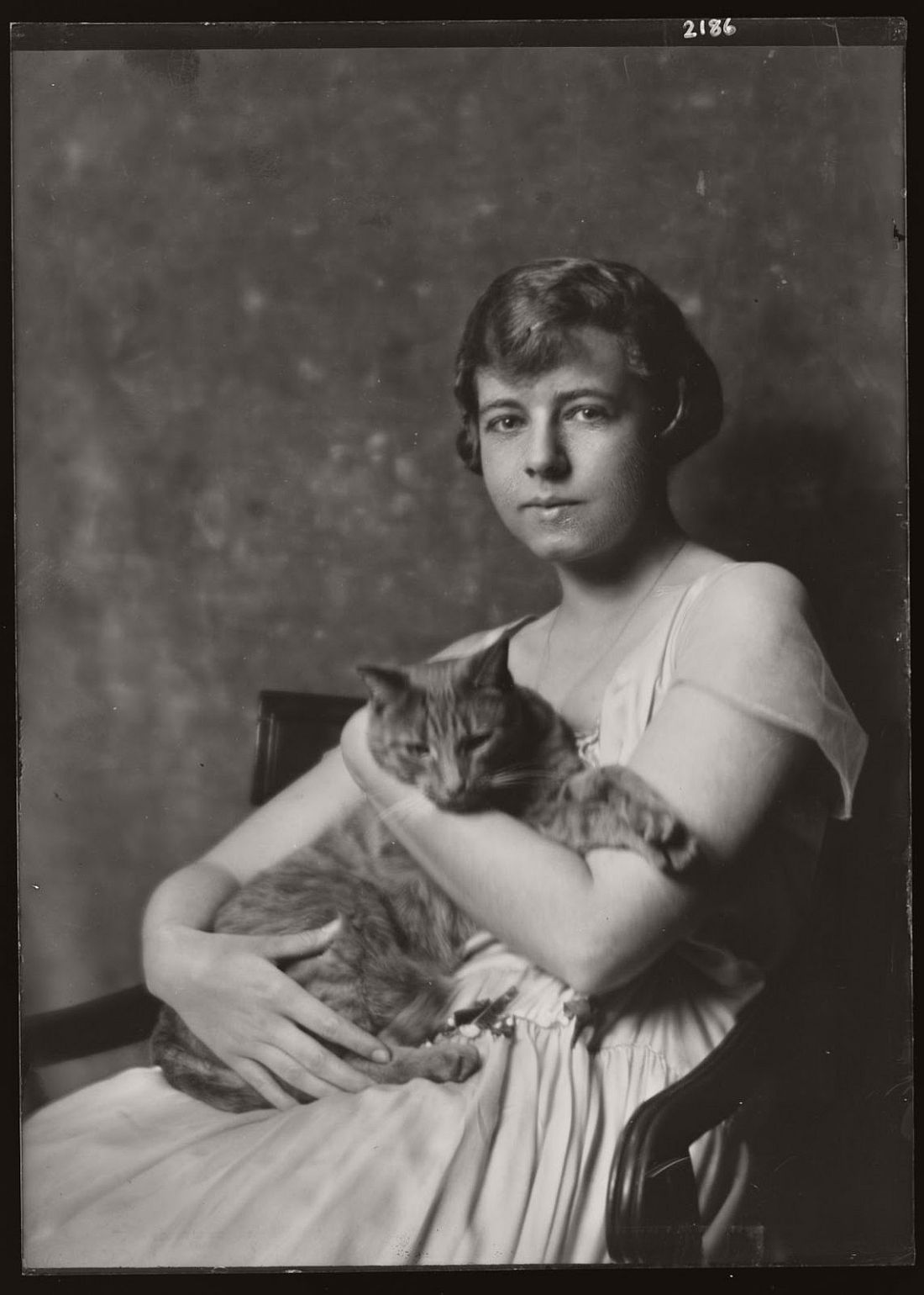 arnold-genthe-1910s-vintage-studio-portraits-of-girls-with-cat-15