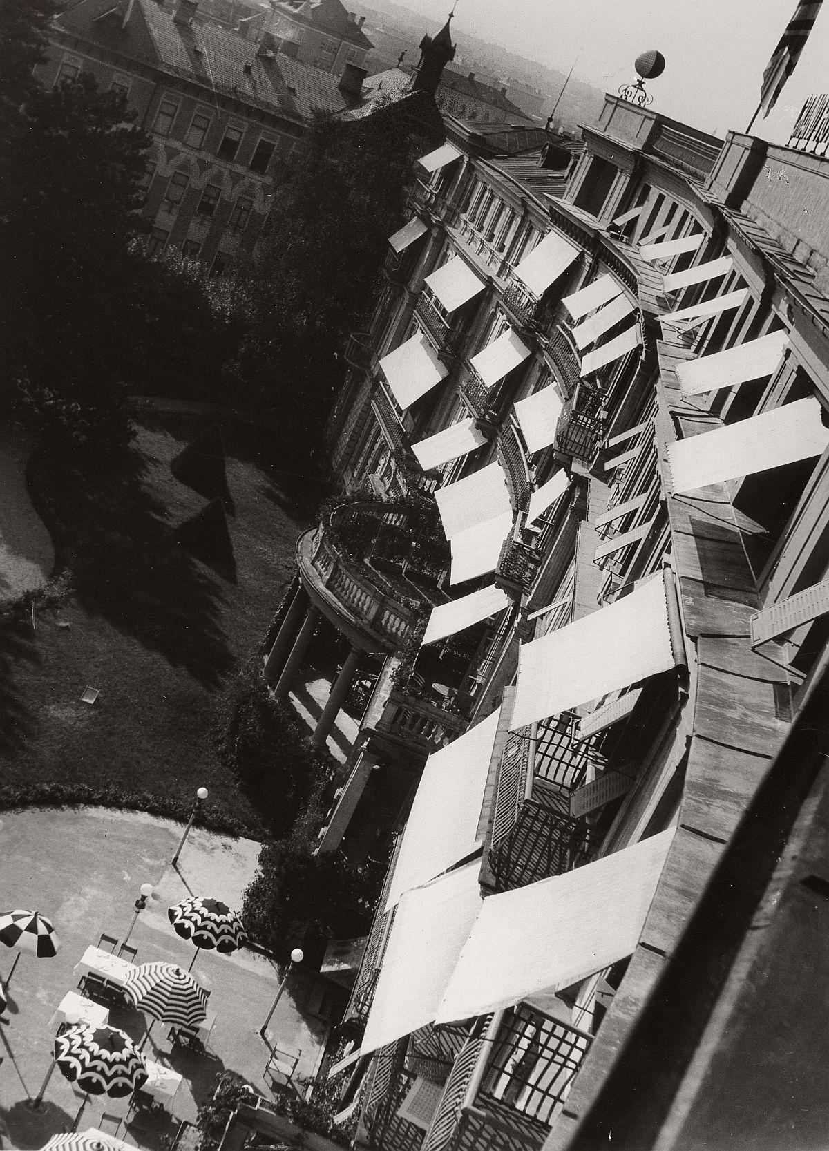 Robert Haas: Hotel de l'Europe, Salzburg, 1935 © Wien Museum/Sammlung Robert Haas