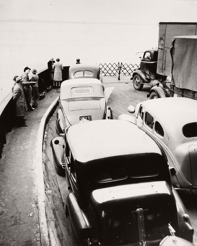 Robert Haas: On the ferry, New York City, 1940s © Wien Museum/Sammlung Robert Haas