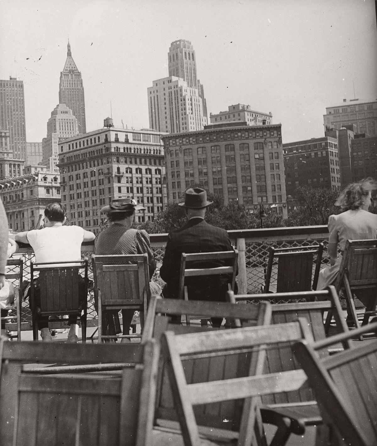 Robert Haas: On the ferry, New York City, 1941 © Wien Museum/Sammlung Robert Haas