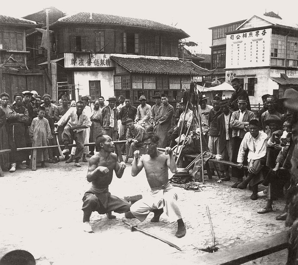 Street Theater, 1928, Shanghai