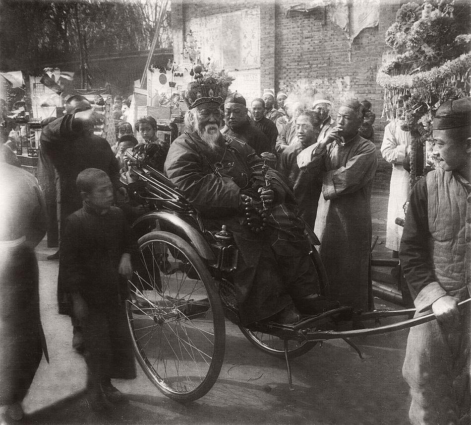 Religious dignitary, Shanghai, circa 1930