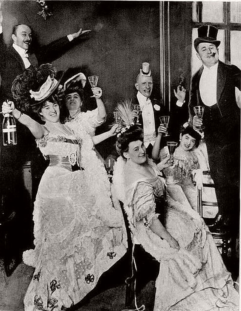 New Year's Eve in the Edwardian Era