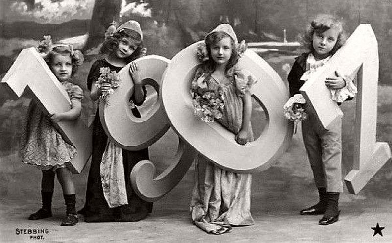 Happy New Year 1907