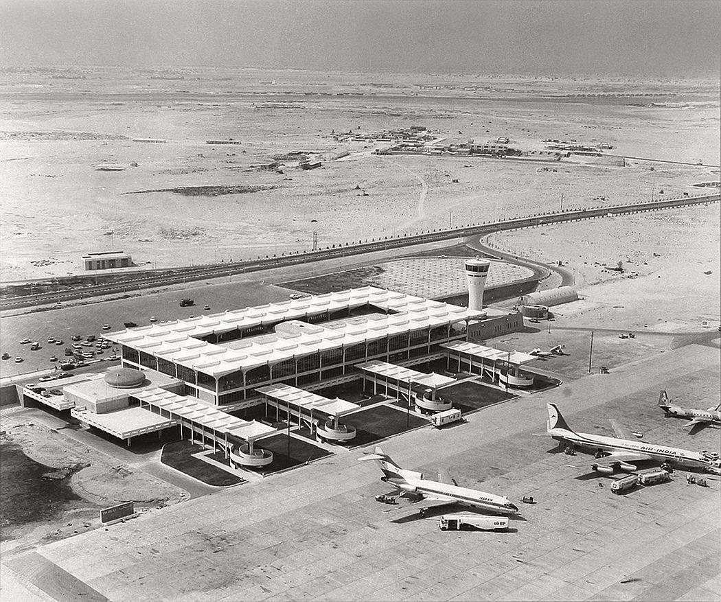 Dubai Airport in 1965