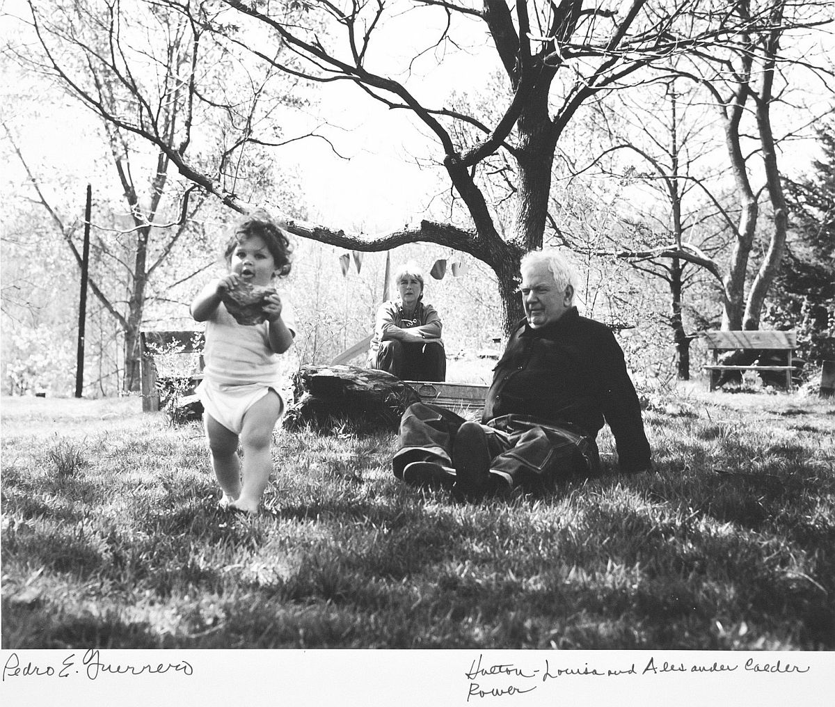 Estate of Pedro E. Guerrero, Holton Rower, Louisa and Sandy Calder, Rocksbury, CT, 1964
