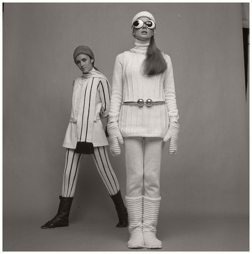 André Courrèges, Ensemble, photographed by Paul Huf, 1969
