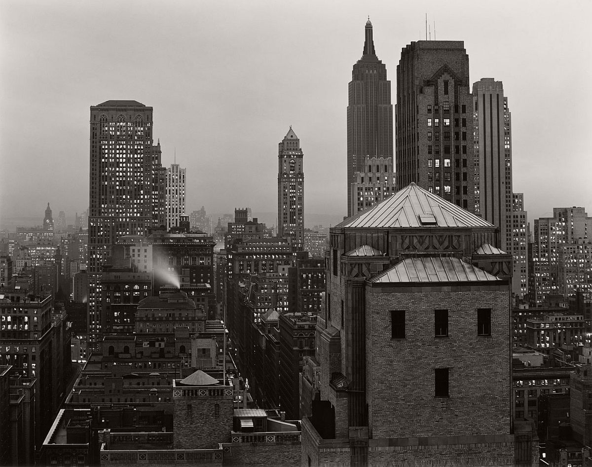 Edward Weston, From 515 Madison Avenue, New York, 1941