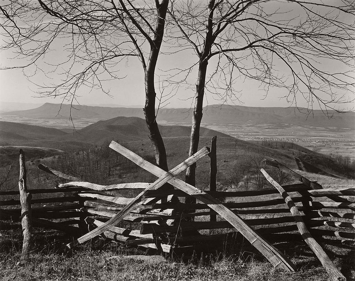 Edward Weston, Shenandoah Valley, Virginia, 1941