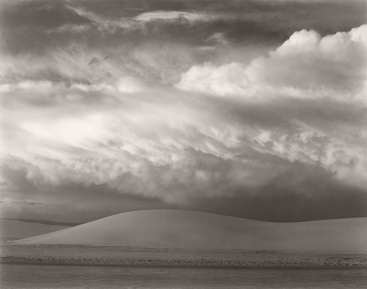 "Edward Weston, ""White Sands, New Mexico"" (1941), Huntington Library, Art Collections, and Botanical Gardens, © 1981 Center for Creative Photography, Arizona Board of Regents"