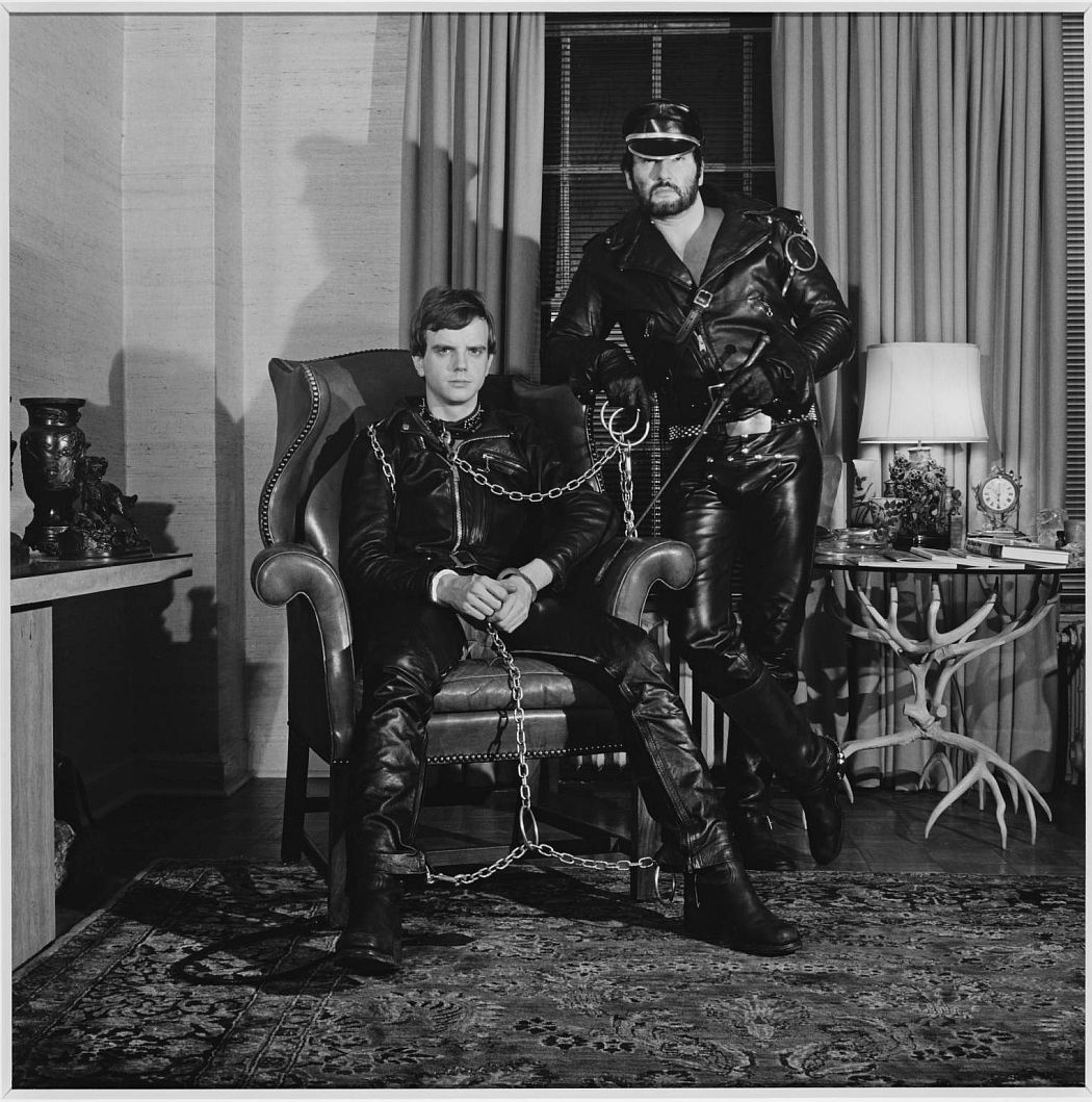 Brian Ridley and Lyle Heeter 1979 Robert Mapplethorpe