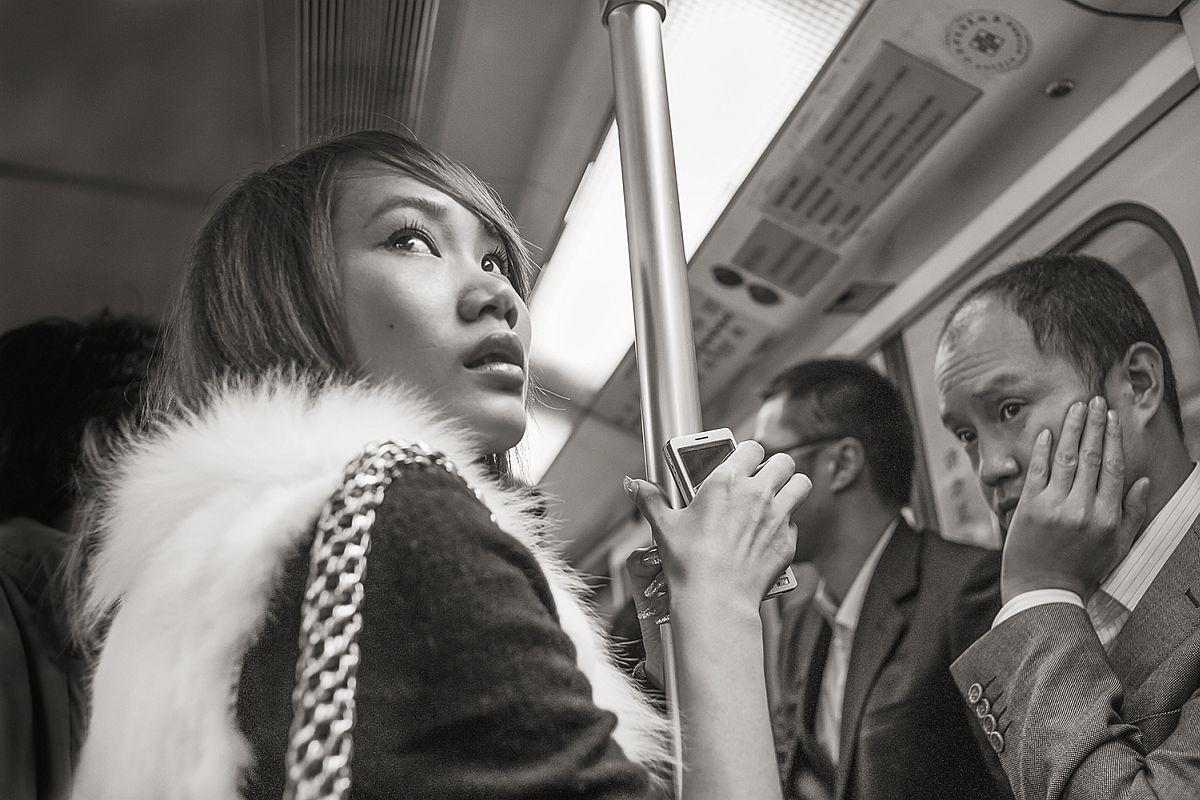 Line 1 near People's Square, Shanghai, 2009  © Stan Raucher