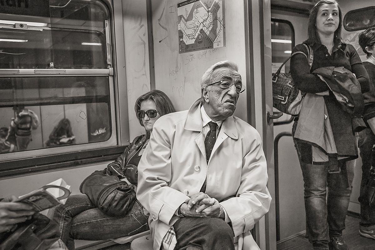 Line 2 at Montesanto, Naples, 2011 © Stan Raucher