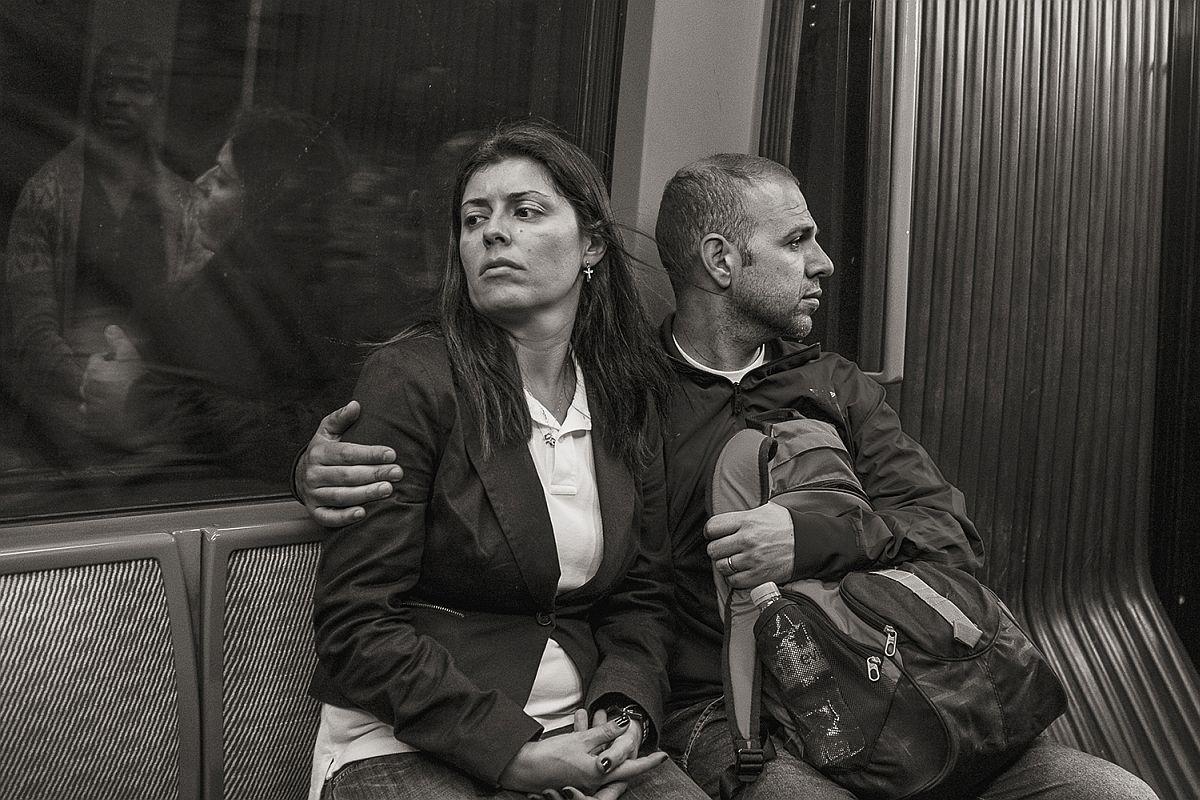 Line 4 near Etienne Marcel, Paris, 2013 © Stan Raucher