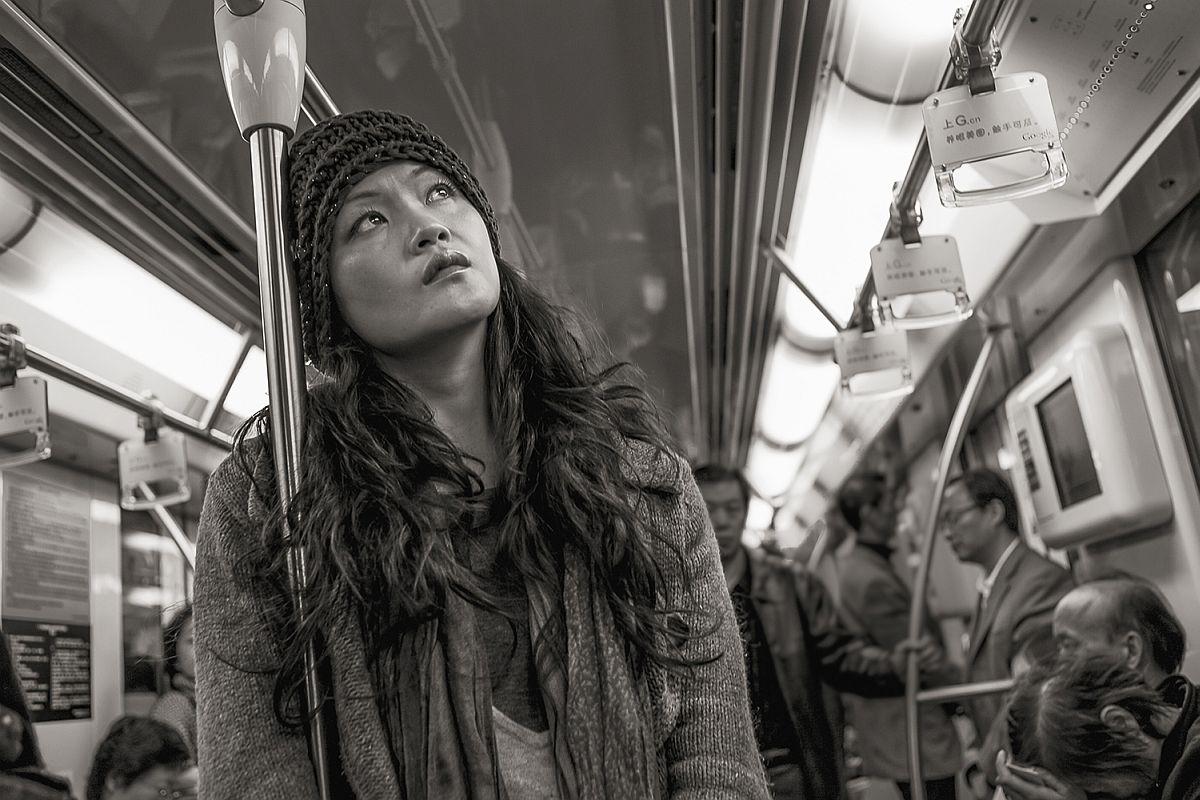 Line 2 near Lujiazui, Shanghai, 2009 © Stan Raucher