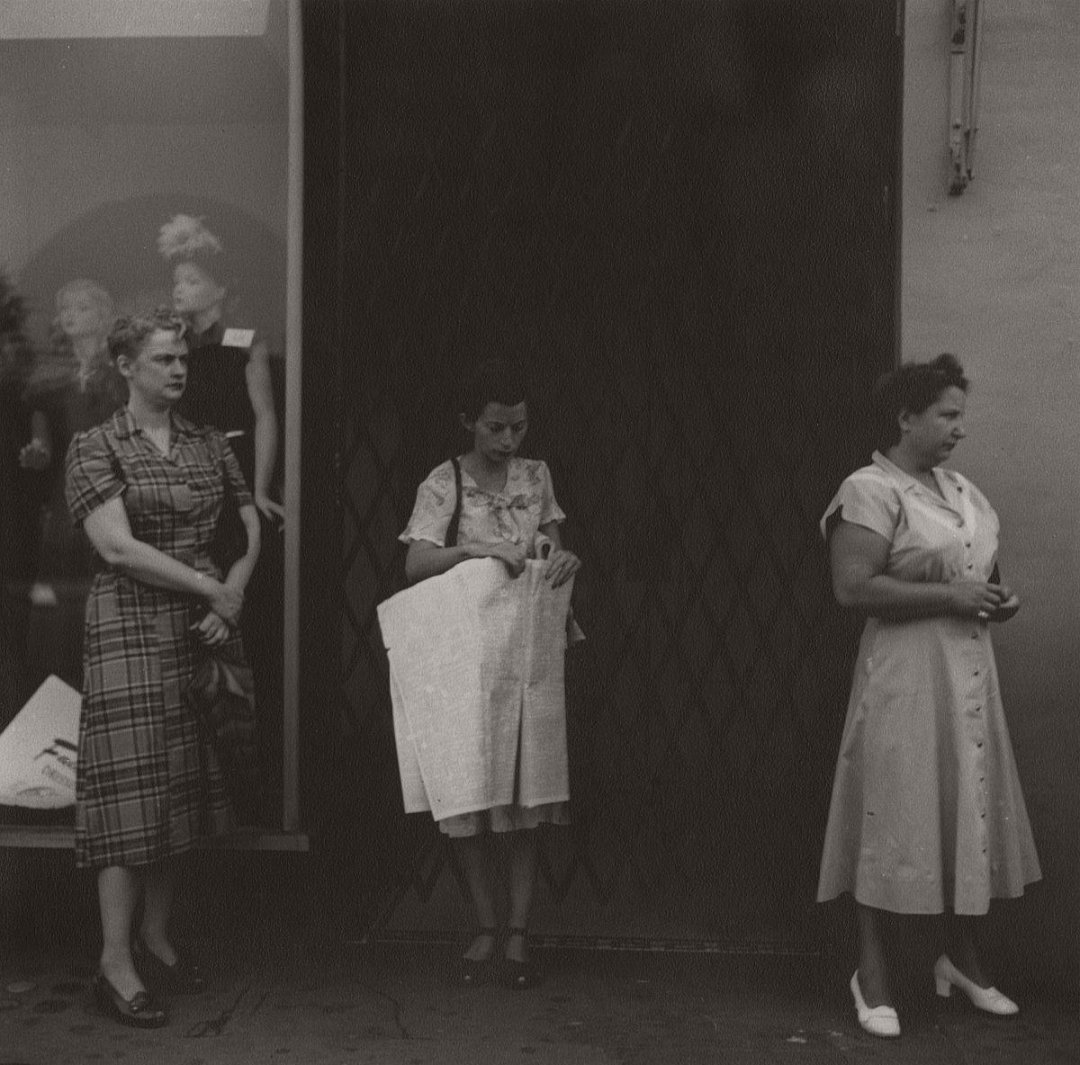 Untitled (three women), c.1948