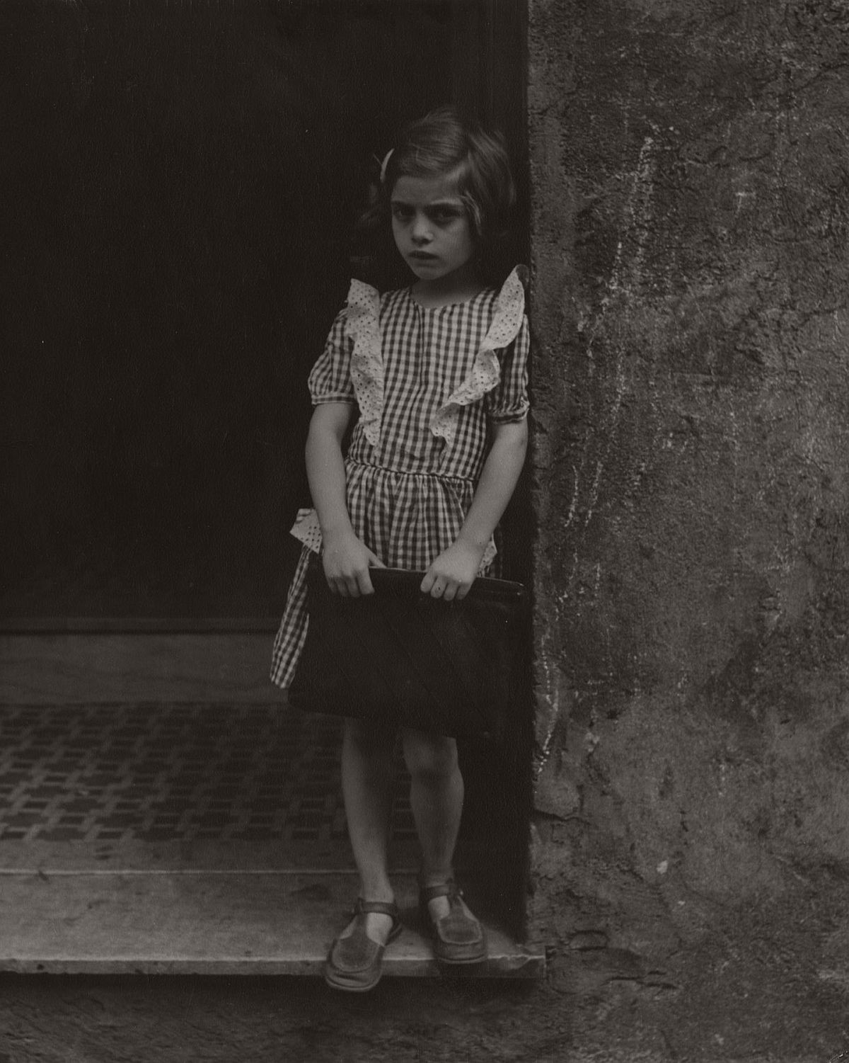 Girl with Pocketbook, 1948