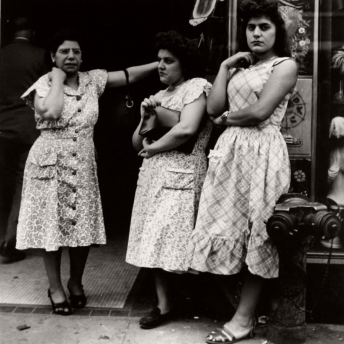 Three Ladies on 14th Street, 1948