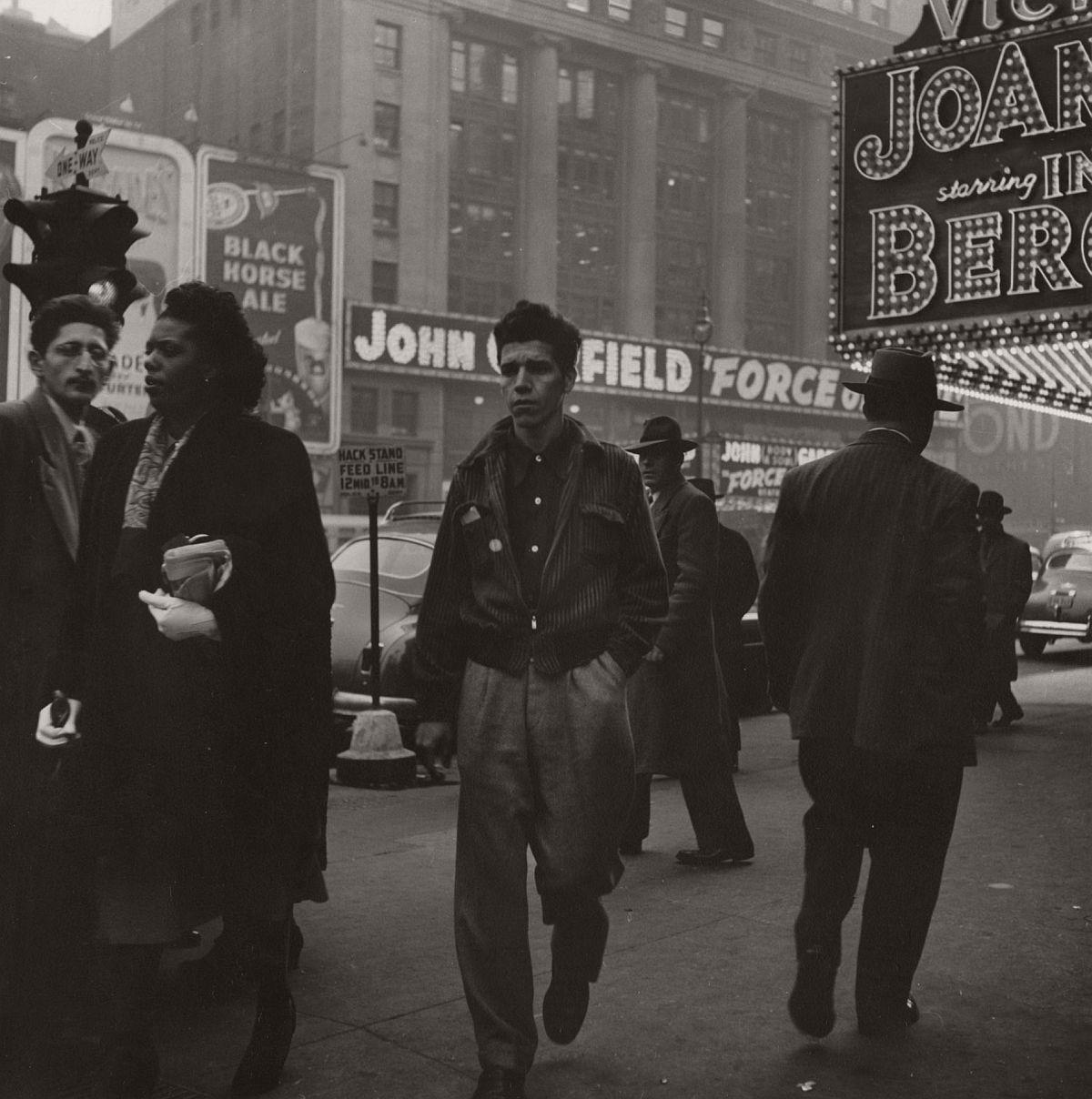 Man in Jacket, 1949