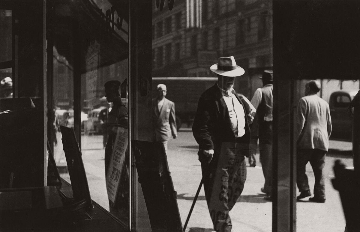 Man with Cane, 1950