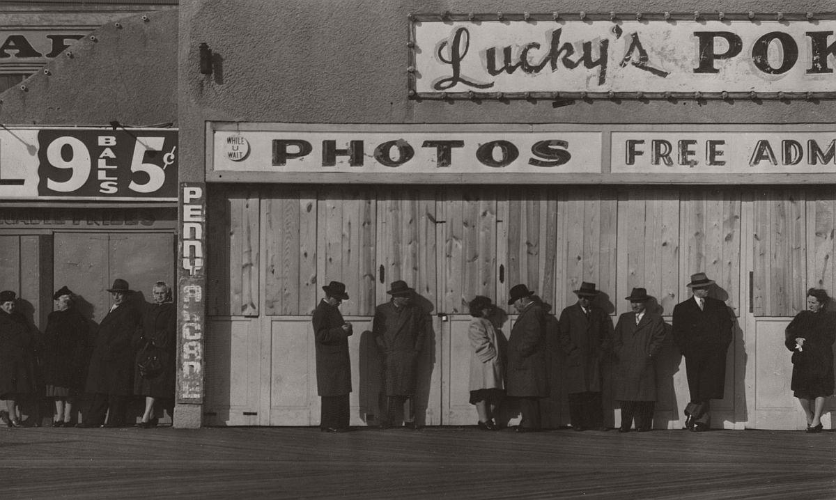 Untitled (boardwalk), c.1948