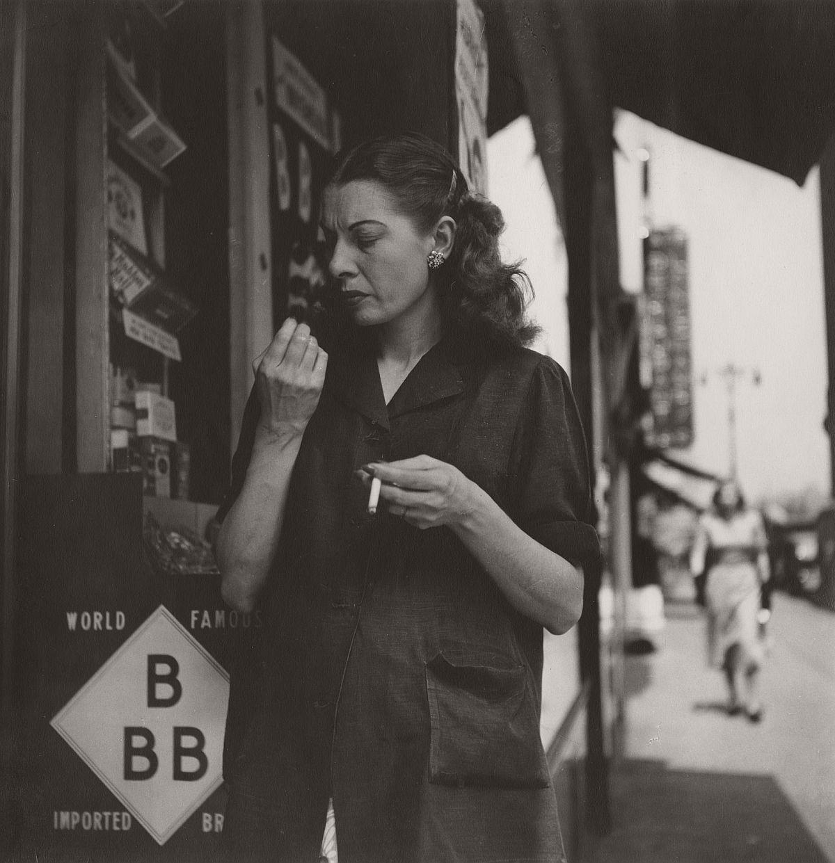 Woman Looking at Nails, 1948
